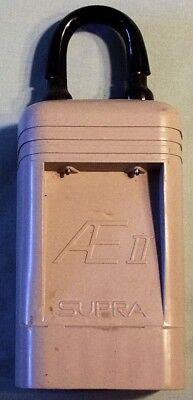 Supra Ae2 Lock Box Suprakey And 2 Leather Cases
