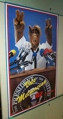 ALF For President Vintage 80s Poster & Other FREE ALF POSTER