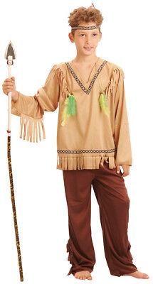 Indianer-Kinderkostüm für Jungen beigefarben-braun - Kind Kostüme Für Jungen