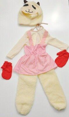 Lamb Chop Costume (Child Shari Lewis LambChop Halloween Costume Size Toddler 2-4 Fits ages 1-2)