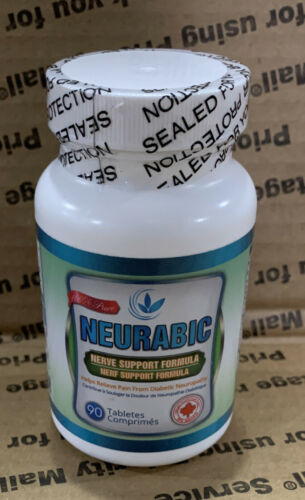 Neurabic Nerve Support Neuropathy 90 tablets Sealed Expires  09/2022