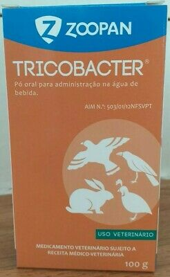 TricoBacter 100gr (Trichomoniasis, Hexamatiasis, Coccidiosis) Pigeons & Birds