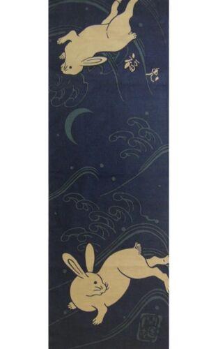 TENUGUI Rabbit Japanese traditional towel Hand towel made in Japan