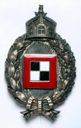 Rare WWI Prussia Observer Badge_Silver 800_Beautiful Design & Excellent Quality