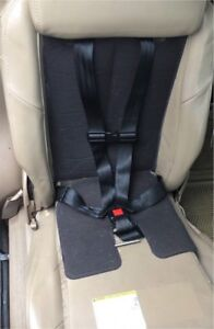 Built in/integrated child seat for GM vans