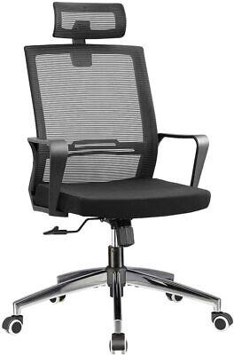 Younbo Office Chair High Back Desk Computer Chair Black Mesh Swivel Ergonomic