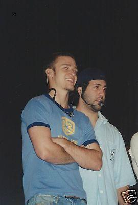 "Justin Timberlake 4"" x 6"" Photo #3 NSync N Sync"