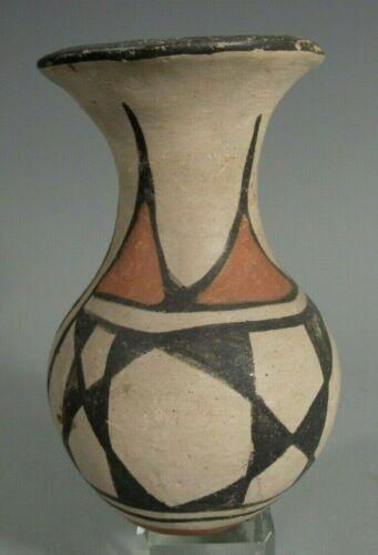 Santo Domingo (Kewa) Polychrome Pottery Vase Shaped Vessel ca. 19-20th century