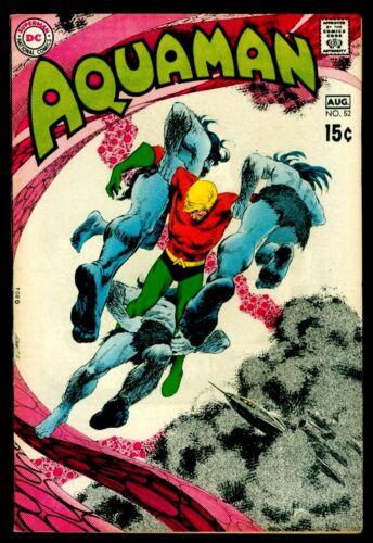 DC Comics AQUAMAN #52 Deadman Adams Art VFN- 7.5