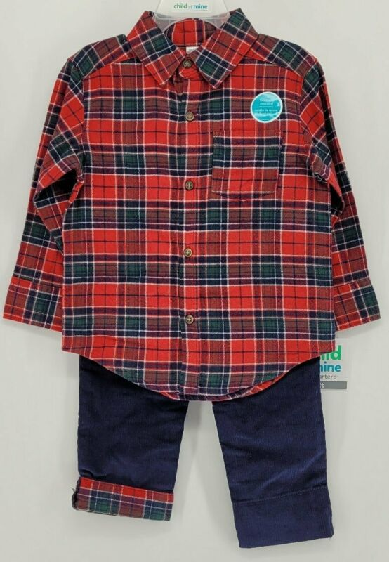 Carter's Child of Mine, Size 2T Boys Pants Set, NEW with Tags, CSM - 10210