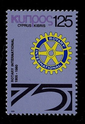 CYPRUS   SCOTT# 525  MNH ROTARY INTERNATIONAL (CLUB OF CYPRUS)