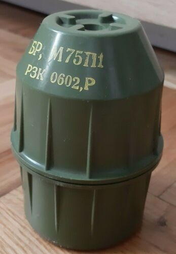 M75 P1 YUGOSLAVIA ARMY BOMB BOX military CASE hermetic chest HAND GRENADE holder