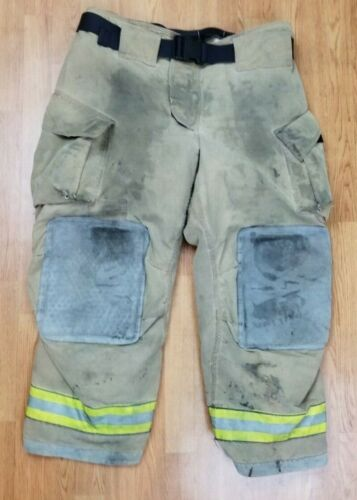 Cairns MFG. 2012 NEW Firefighter Turnout Bunker Pants 42 x 30