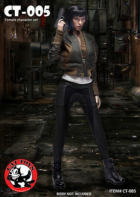 PREORDER 1/6 Major Motoko Kusanagi OUTFIT ONLY Ghost in the Shell USA Toys Hot