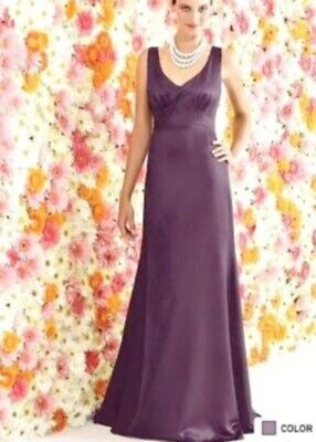 After Six Bridesmaid Strapless Dress # 6257...Eggplant....Size 10 After Six Bridesmaid Dress