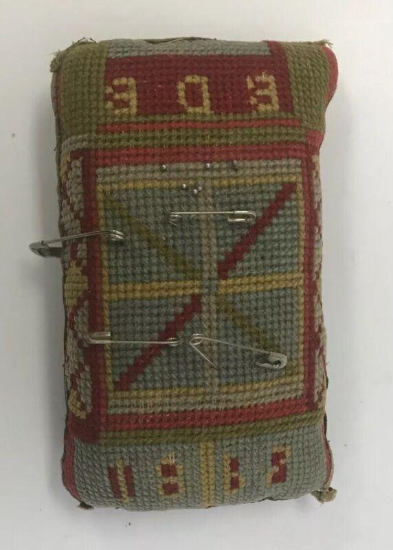 Handmade Pin Cushion Initaled and Dated 1867
