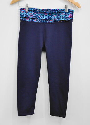 Fabletics Salar Capri Leggings Navy Blue Size XS  Women's Athletic Pant