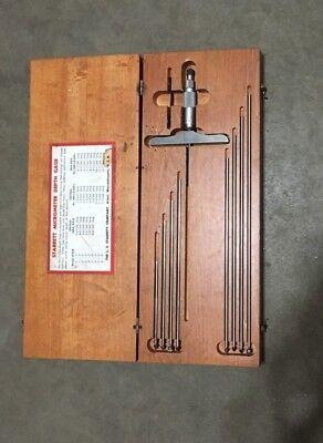 Starrett Micrometer Depth Gage