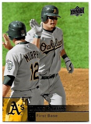2009   Upper Deck  283   Daric Barton   Oakland Athletics   Nmmt 8