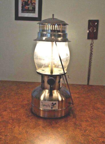 """LIGHTNING BUG"" AMISH MADE / ALL SS + BRASS- 1,000 CP Pressure Lantern NEW/RARE!"