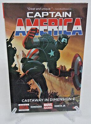 Captain America Castaway in Dimension Z Vol 1 Marvel HC Hard Cover New Sealed