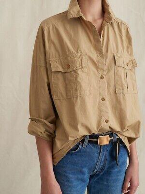 NWT Alex Mill Keeper Button Down Shirt - Olive / Khaki