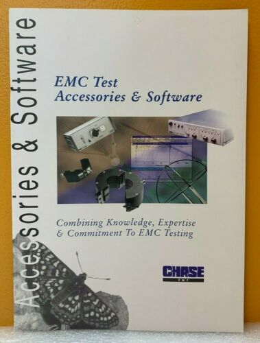Chase EMC Test Accessories & Software Catalog.
