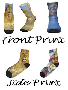 Design Your Own Novelty Socks-Mens/Ladies Socks - Personalised Socks