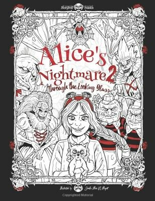 htmares 2 Gothic Adult Colouring Book Horror Halloween  (Film Horror-halloween 2)