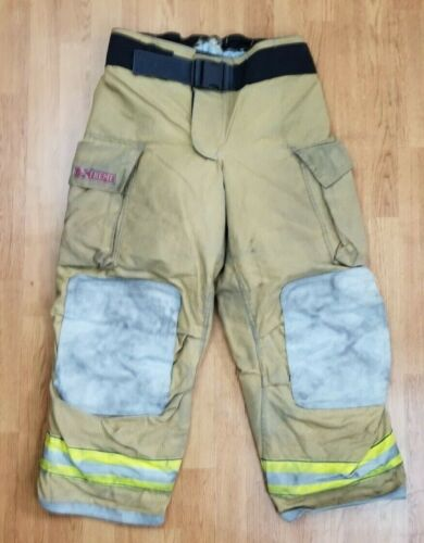 Globe G-Xtreme Firefighter Bunker Turnout Pants 38 x 30