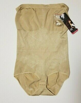 Body Beautiful Nude Strapless Body Suit Shaper Size 2X/3X(20-22) MSRP $48 NWT](Naked Suit)
