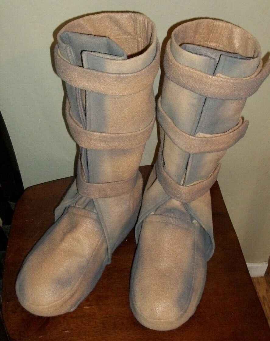 Bespin Boots Costume Shoe Covers That Luke Wore On Dagobah dirtied Up Design  - $85.00