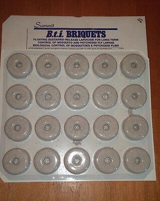 60 Summit BTI Mosquito Pest Control Briquettes Dunks