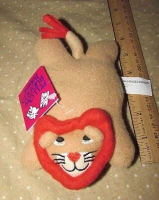 "Crown Crafts Pillow Buddies Babies Plush Lion Rorie Bean Bag Mini 6"" baby"
