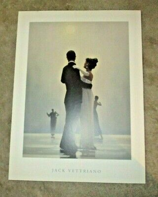 Dance Me To The End of Love Jack Vettriano Love Dancing Art Print Mounted for sale  Annapolis