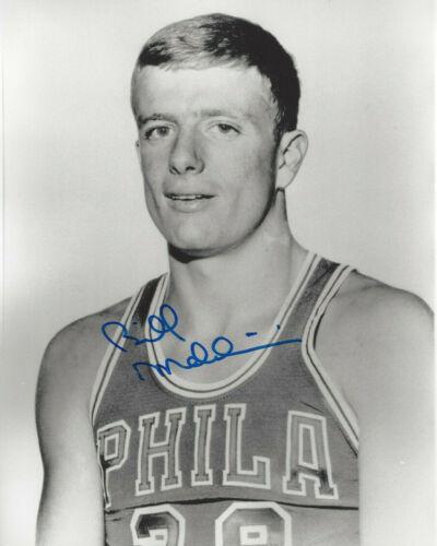 HOF 76'ers  Bill Melchionni autographed 8x10 vintage  photo