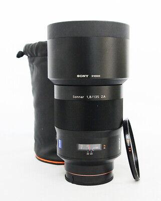 # Sony SAL 135mm f/1.8 ZA  AF MF Lens S/N 0194754