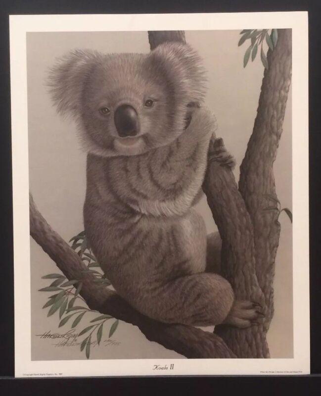 KOALA II Harold Rigsby Limited Edition Fine Art Print #284/975