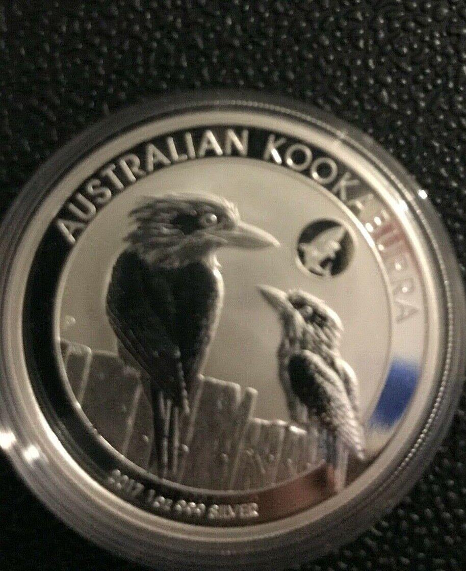 2017 1 Oz Silver Australia 1 BU Kookaburra Shark Privy In Capsule Only 50,000  - $49.99