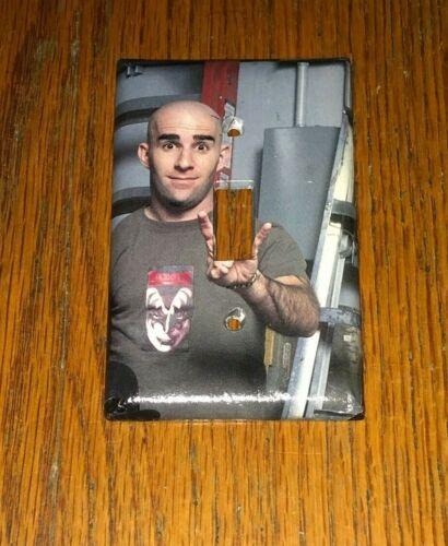SCOTT IAN of  ANTHRAX & S.O.D. METAL ROCK LEGEND Light Switch Cover Plate A