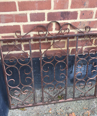 Victorian Heavy Wrought Iron Gate