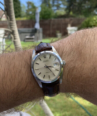 Rolex Oyster Date Precision 6694 Mens Vintage Watch