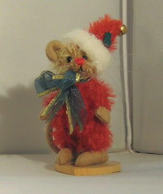 Deb Canham Miniature Bear- Merry Mouse  #403/1000