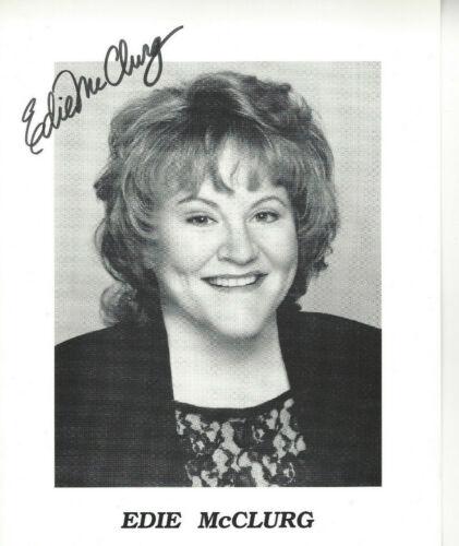 actress EDIE McCLURG autographed 8X10 photo FERRIS BUELLER'S DAY OFF
