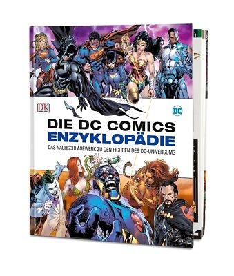 DIE DC COMICS ENZYKLOPÄDIE - Alle Figuren Des DC Universums - DK Verlag - NEU