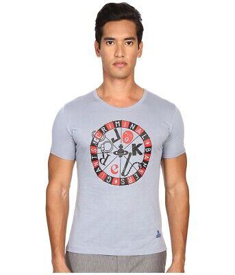 Vivienne Westwood Joker T-Shirt - Men's Size S - Blue NEW