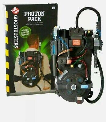Ghostbusters Proton Pack Costume Adult Kids Spirit Halloween Replica light up