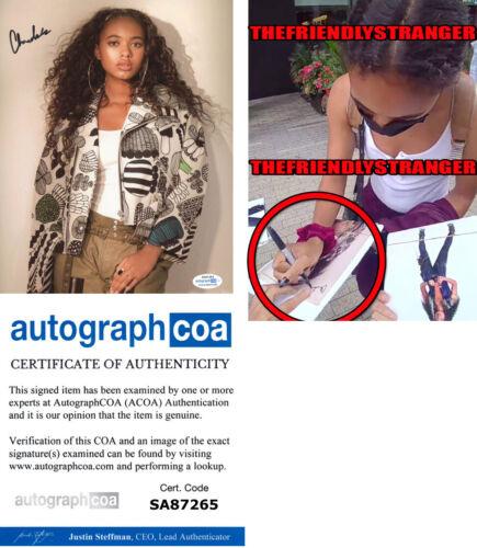 CHANDLER KINNEY signed 8X10 Photo EXACT PROOF f ZOMBIES Pretty Little Liars ACOA