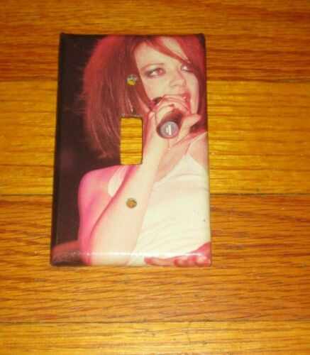SHIRLEY MANSON of GARBAGE ROCK METAL MUSIC LEGEND Light Switch Cover Plate