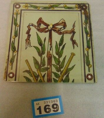 Victorian Fireplace Tile 169